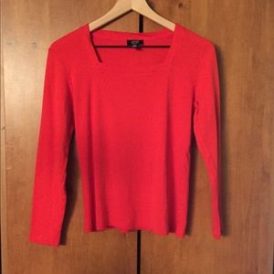 Jones New York Burnt Orange Top (S), gently used